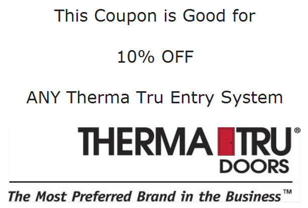 Therma Tru Coupon